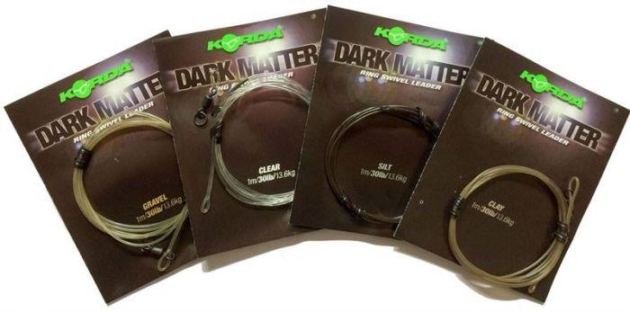 Korda - Safe Zone Dark Matter Ring Swivel Leader