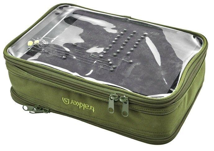 Trakker nxg tackle rig bitz bag for Rigged fishing backpack
