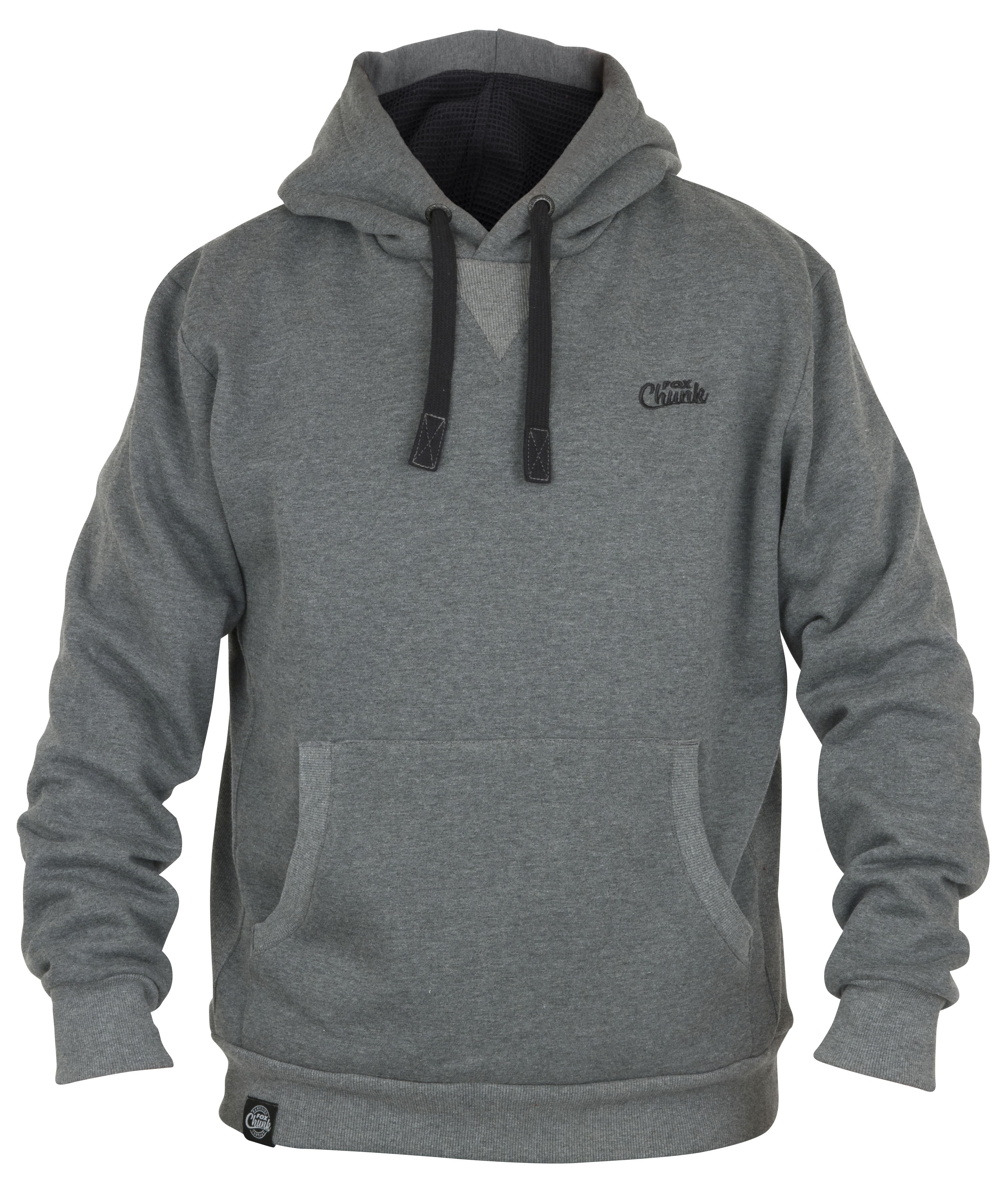 Fox - Chunk Ribbed Hoody Grey