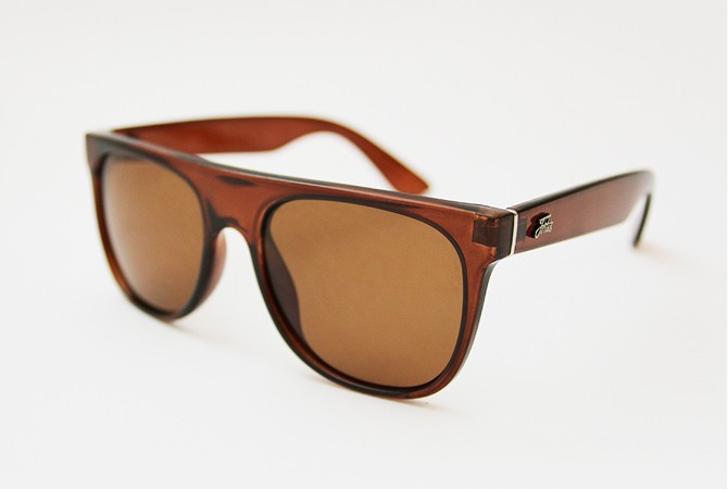 Fortis - Flat Top Brown Polarised Sunglasses