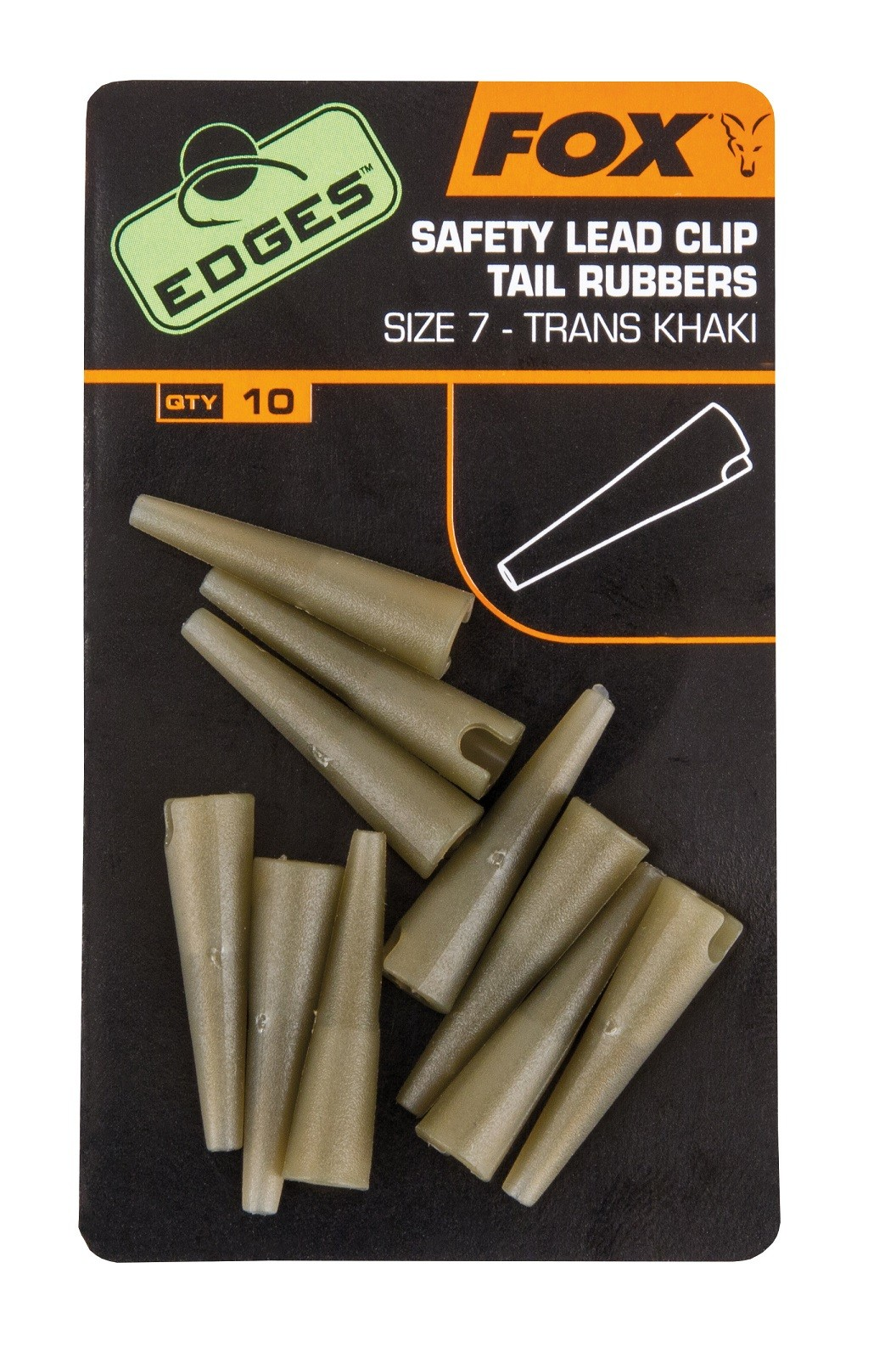 Fox - Edges Tail Rubbers - Size 7