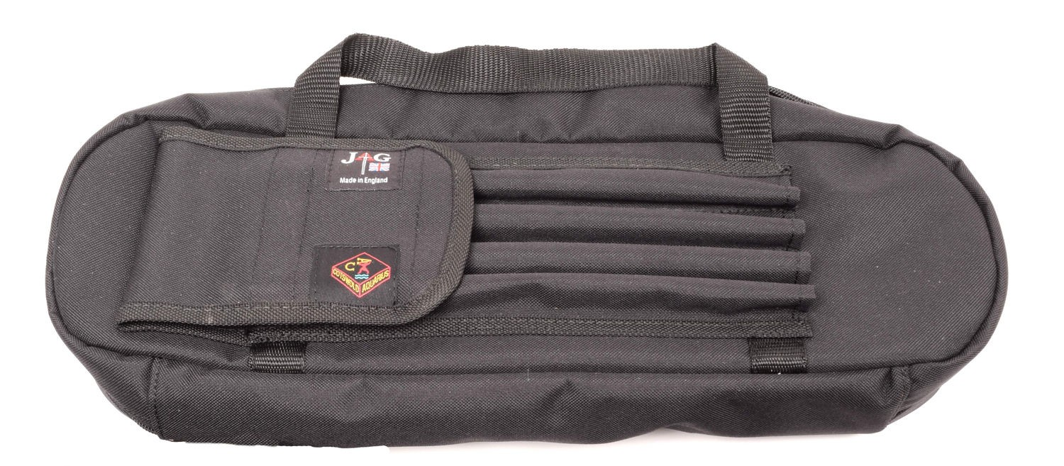 JAG - 3 Rod Black XL Buzz Bar Pouch