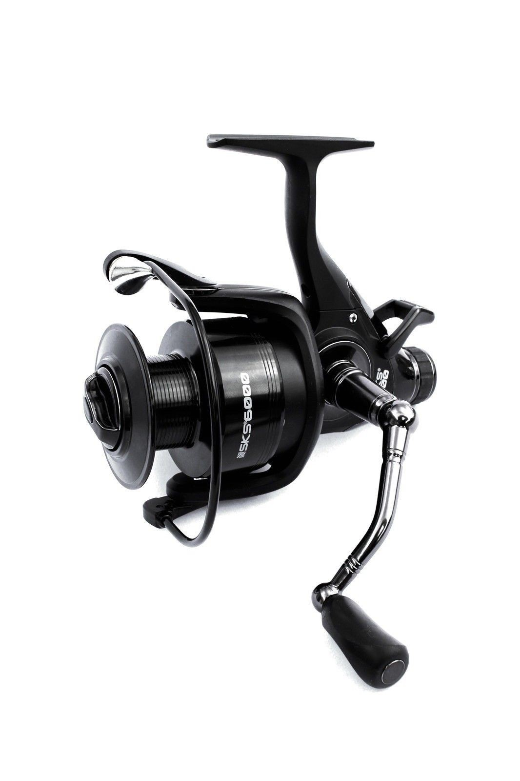 Sonik - FS 6000 Single Handle Black Reel