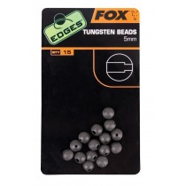 Fox - Edges 5mm Tungsten Beads