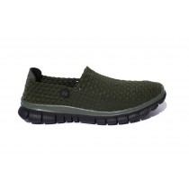 Navitas - Green Weave Slip On Shoe