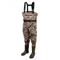Prologic - Max5 Camo Nylo-Stretch Chest Waders with Cleated Soles