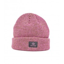 Navitas - Women's Green and Pink Lily Beanie Hat