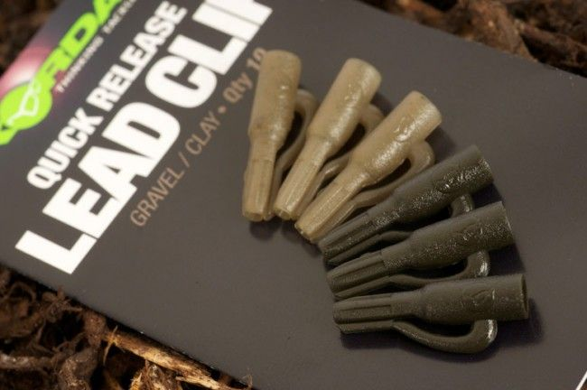 Korda - Quick Release Lead Clips