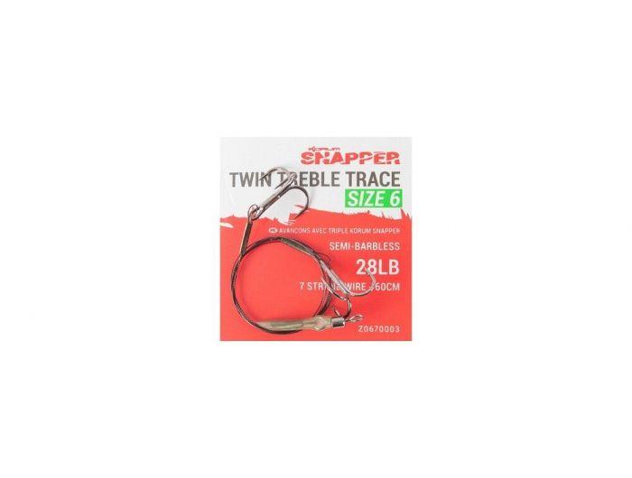 Korum - Snapper Twin Treble Trace