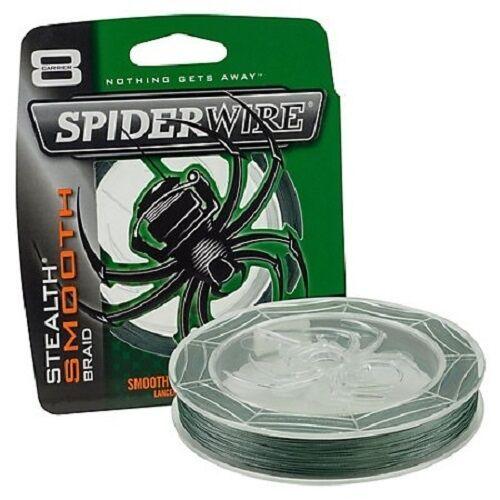 Spiderwire - Stealth Smooth 8 Braid Moss Green 300m