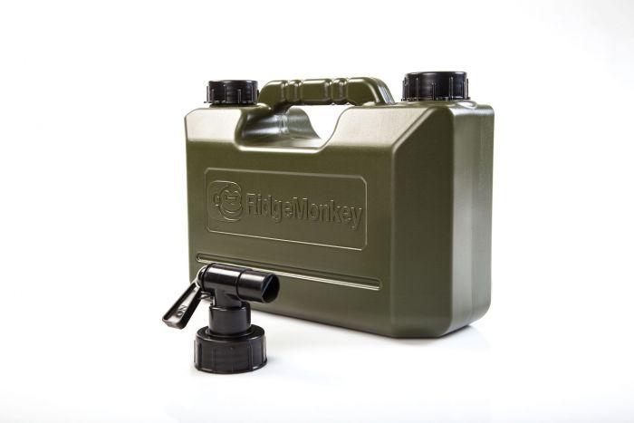 RidgeMonkey - 5ltr Green Water Carrier with Tap