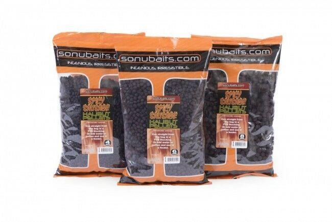 Sonubaits - Spicy Sausage Halibut Pellets