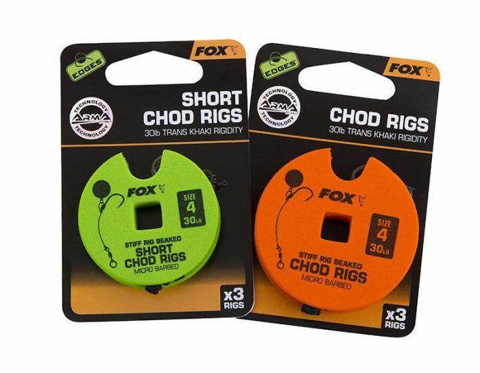 Fox - Edges Arma Point Stiff Rig Chod Rigs