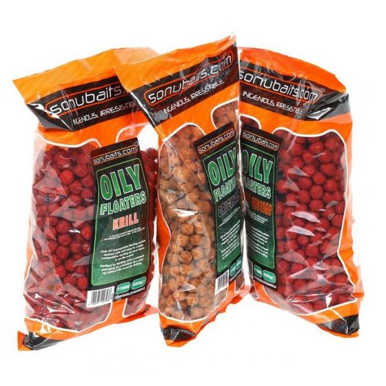 Sonubaits - Oily Floaters 11mm Krill
