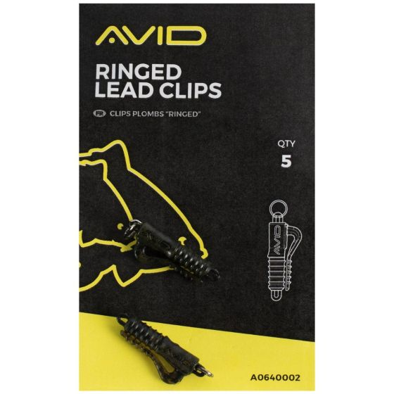 Avid - Outline Ringed Lead Clip