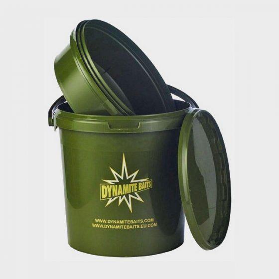Dynamite Baits - 10ltr Green Bait Bucket