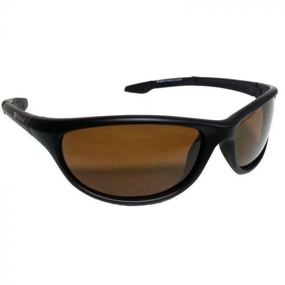 Wychwood - Brown Lens Wrap Polarised Sunglasses