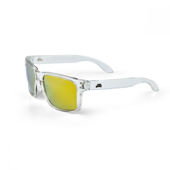 Fortis - Bays Clear Frame Polarised Sunglasses