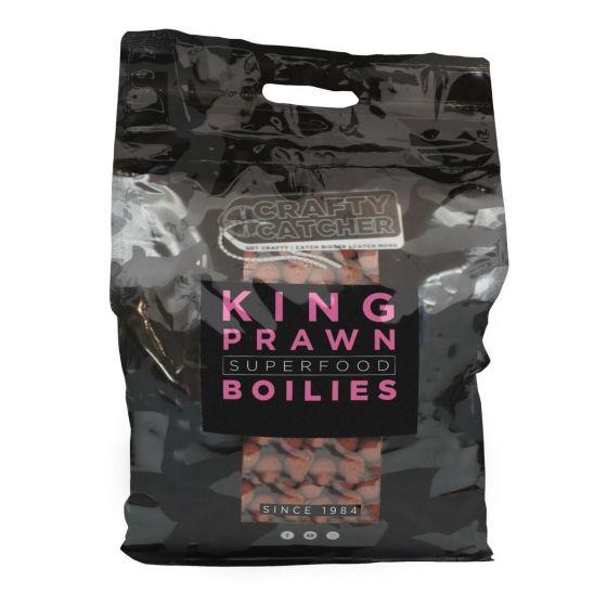 Crafty Catcher - Superfood King Prawn Boilies