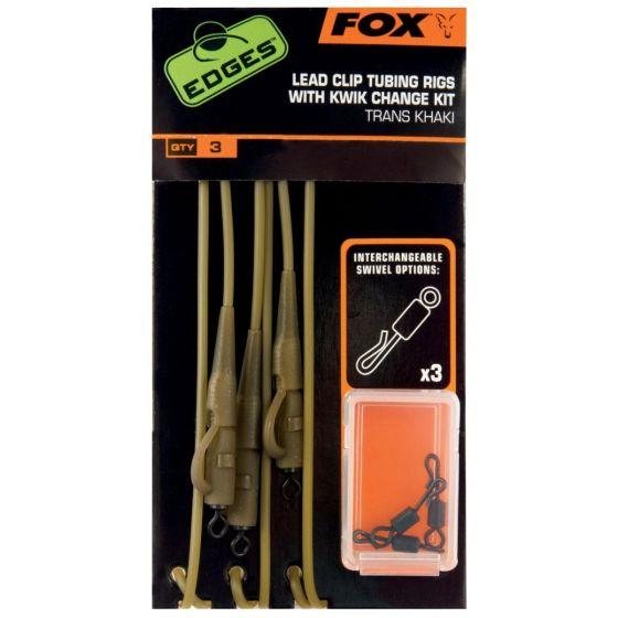Fox - Edges Tubing And Lead Clip Rigs