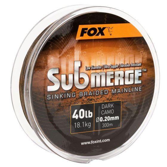 Fox - Submerge Braid Dark Camo 55lb 300m