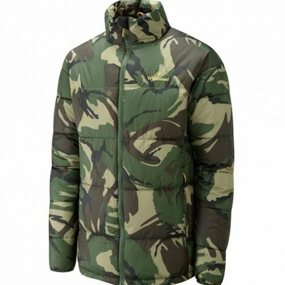 Wychwood - Camo Puffer Jacket