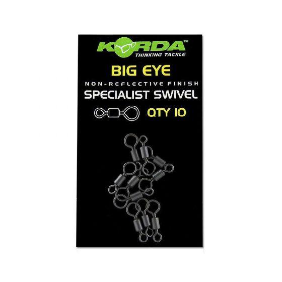 Korda - Big Eye Swivel Size 8