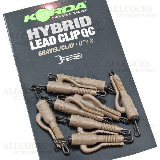 Korda - Quick Change Hybrid Lead Clip Gravel/Clay