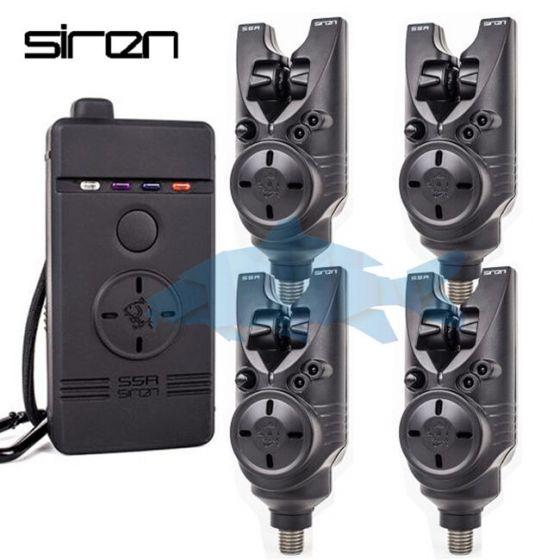 Nash - Siren S5R Bite Alarms x4 + Receiver
