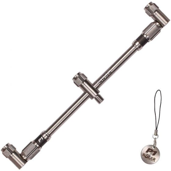 Solar Tackle - P1 Stainless 3 Rod Adjustable Buzz Bar Back