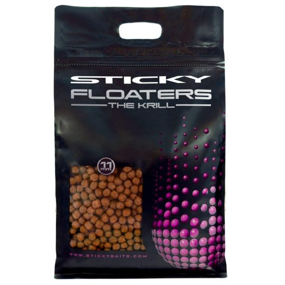 Sticky Baits - The Krill Floaters Floating Pellets 3kg