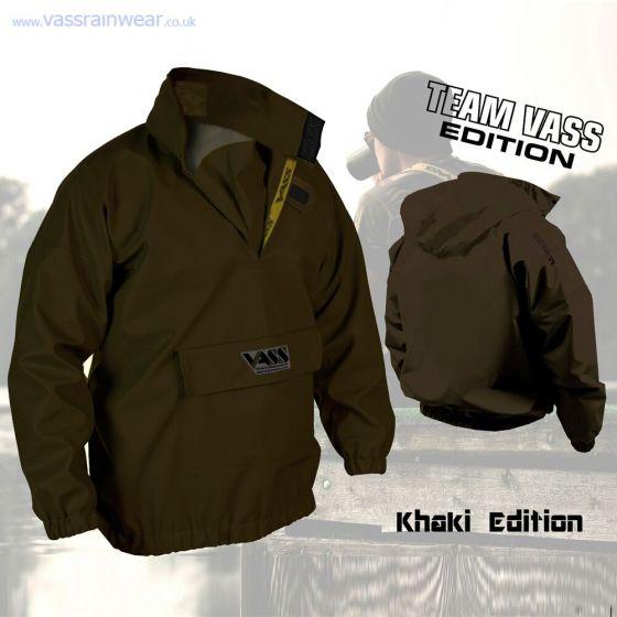 VASS - Team Vass 175 Khaki Lightweight Smock Jacket