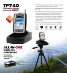 Toslon - TF740 GPS Autopilot Fishfinder With Internal Battery And Charger