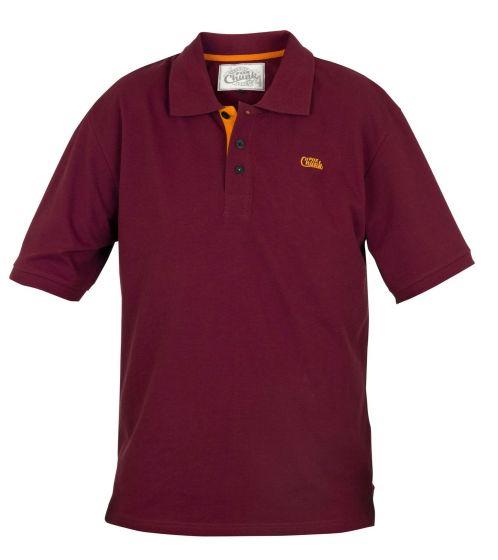Fox - Chunk Burgundy Polo Shirt