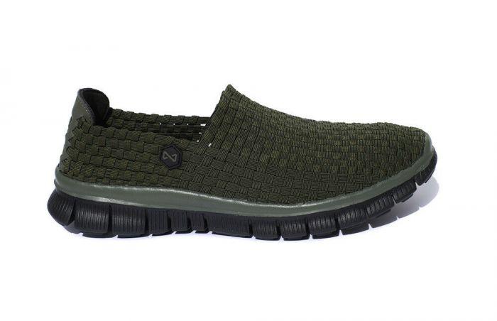 Navitas - Green Weave Slip On Shoe