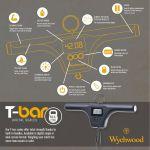 Wychwood - T Bar Scales MK2 60lb