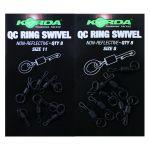 Korda - Quick Change Ring Swivel Size 11