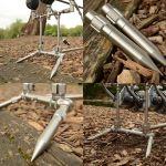 Solar Tackle - P1 Stainless Pozi Loc Stubby Legs