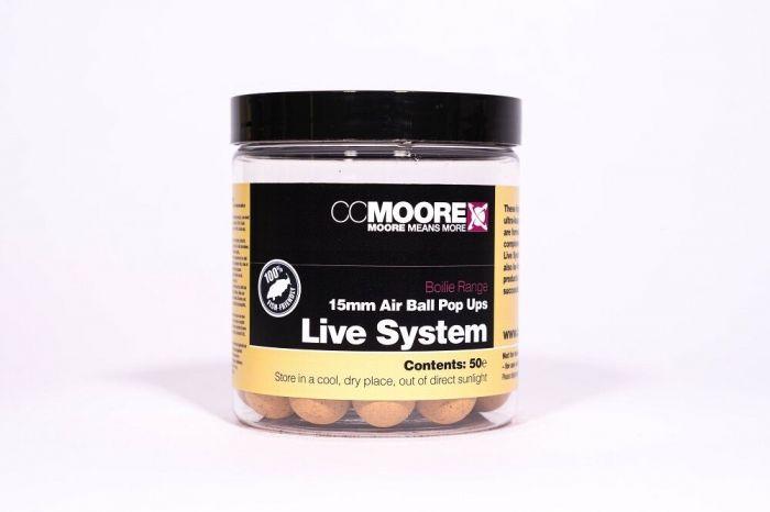 CC Moore - Live System Air Ball Pop Ups