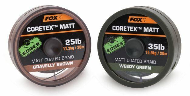 Fox - Edges Coretex Matt Coated Braid