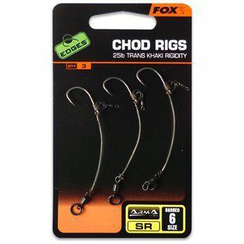 Fox - Edges Ready Tied Chod Rigs