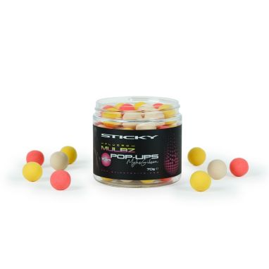 Sticky Baits - Myles Gibson Mulbz Fluoro Pop-Ups