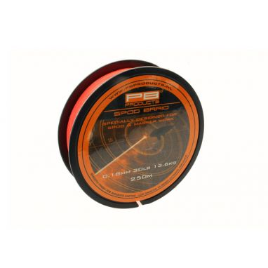 PB Products - Spod Braid 0.18mm 30lb 250m Fluoro Orange
