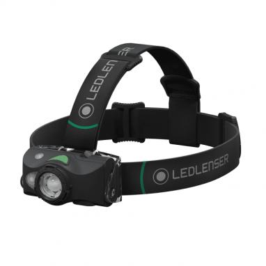 LED Lenser - MH8 Rechargeable Headtorch Black