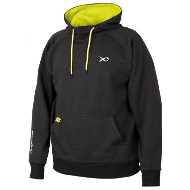 Matrix - Minimal Black/Marl+Lime Hoody