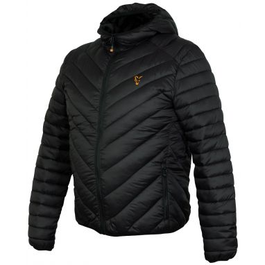 Fox - Collection Black And Orange Quilted Jacket