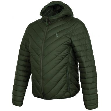 Fox - Collection Green Silver Quilted Jacket