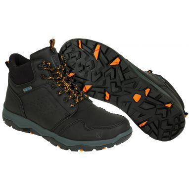 Fox - Collection Black And Orange Mid Boot
