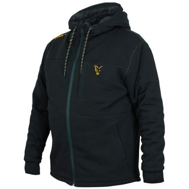 Fox - Collection Black And Orange Sherpa Hoody