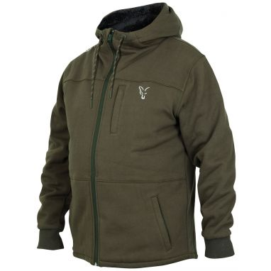 Fox - Collection Green Silver Sherpa Hoody